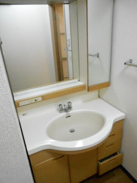 第26明智ビル 302号室の洗面所