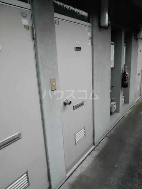 メゾン優 202号室のセキュリティ