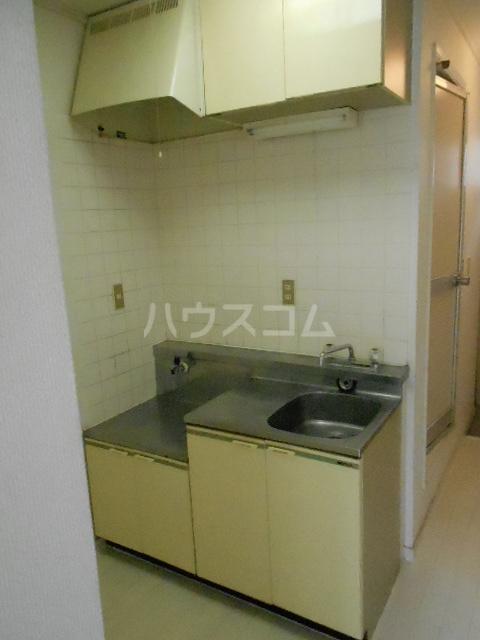 メゾン優 202号室のキッチン