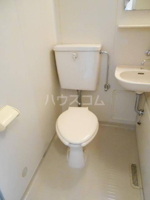 メゾン優 202号室のトイレ