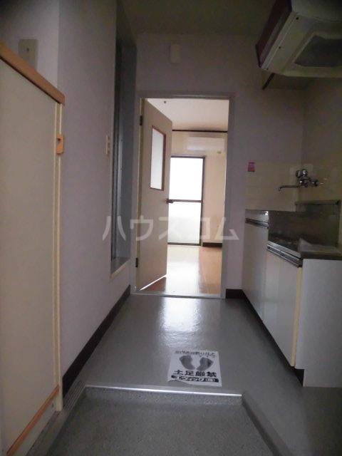 レパードマンション 202号室の玄関
