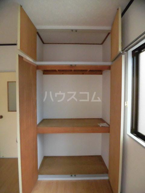 レパードマンション 202号室の収納