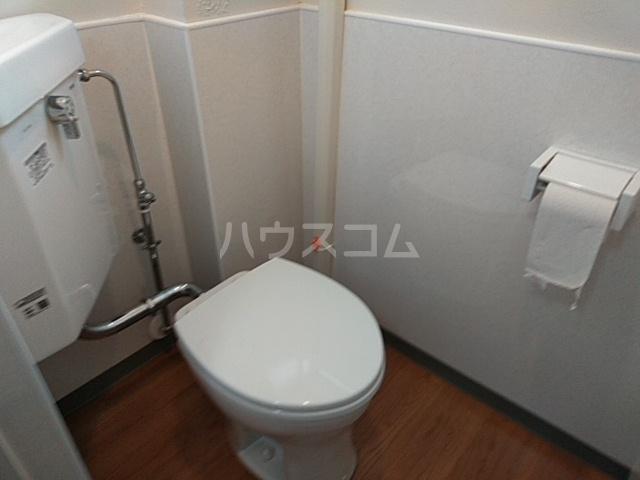 日赤前森田ビル 3C号室のトイレ