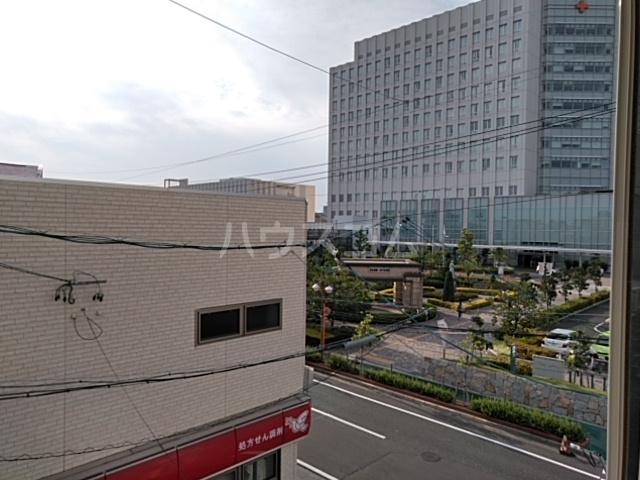 日赤前森田ビル 3C号室の景色