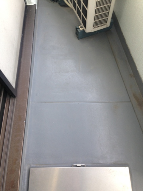 メゾンノーブル 102号室のバルコニー