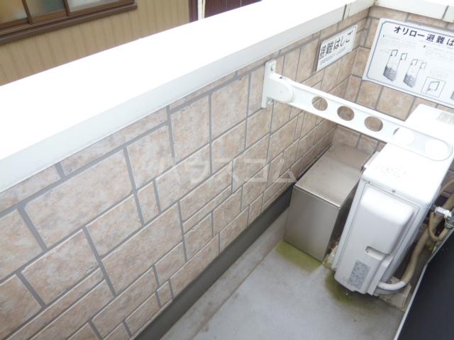 CASA松原(カーサマツバラ) 203号室のバルコニー