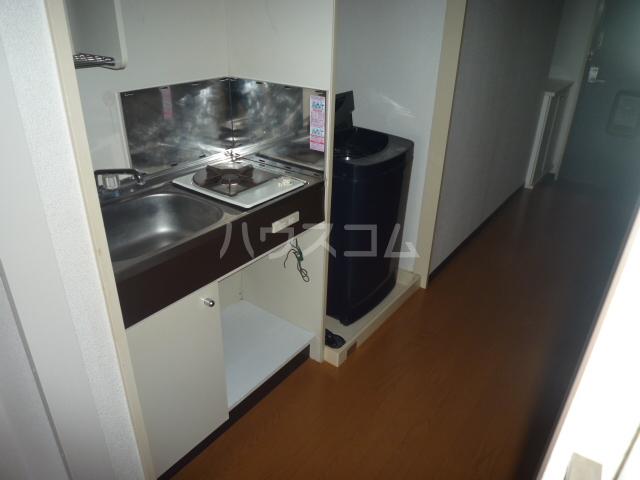 レジェンドミヤタ 203号室のキッチン