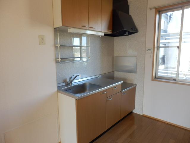 ガーデンガリジェ 202号室のキッチン