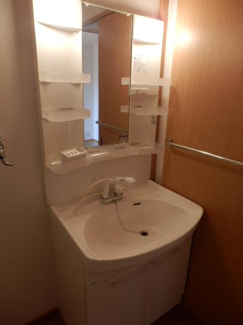 ガーデンガリジェ 202号室の洗面所