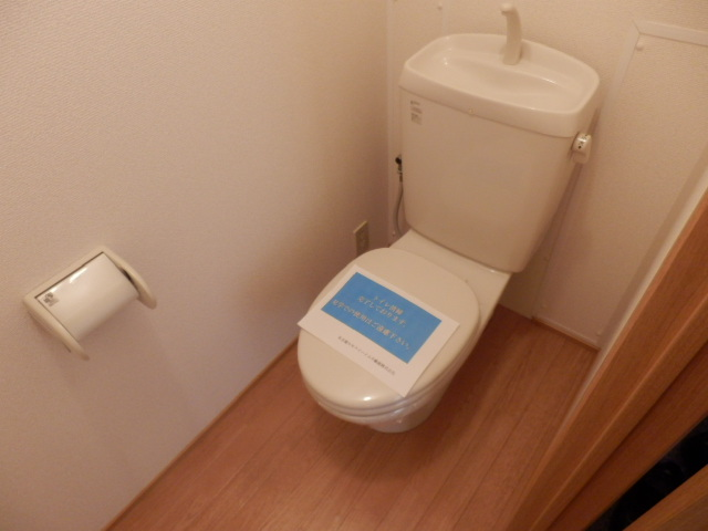 ガーデンガリジェ 202号室のトイレ