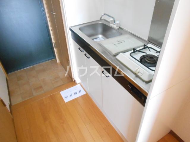 現代ハウス黄金 806号室のキッチン