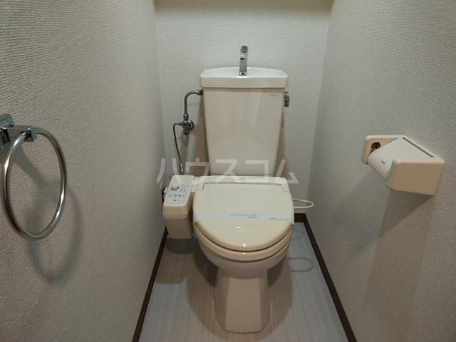 キャッスル若宮 502号室のトイレ