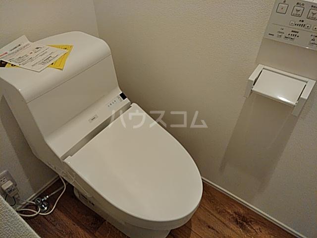 AZEST-RENT本陣 102号室のトイレ