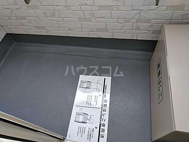AZEST-RENT本陣 102号室のバルコニー