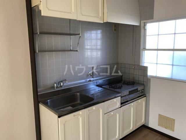 ハイムユアーズⅡ 202号室のキッチン