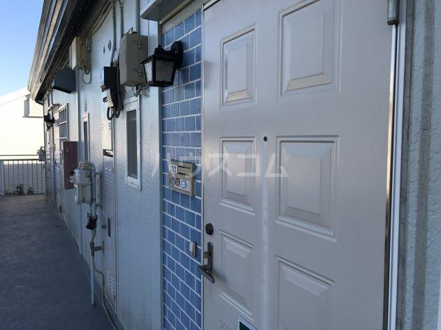 ハイムユアーズⅡ 202号室の玄関