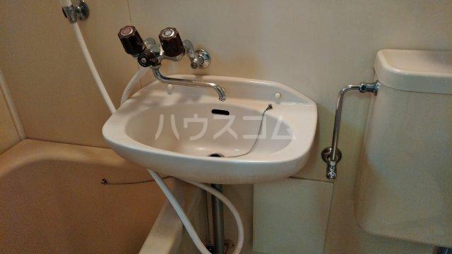 メグミハイツ 7号室の洗面所