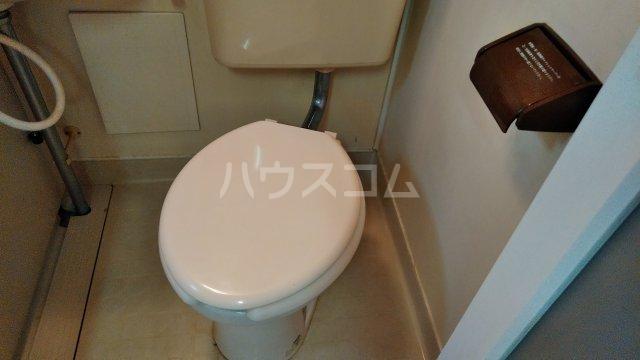メグミハイツ 7号室のトイレ