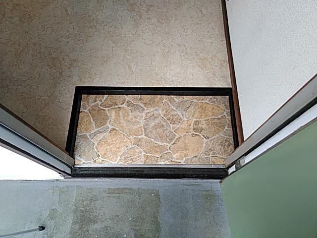 大井ハイム 201号室の玄関