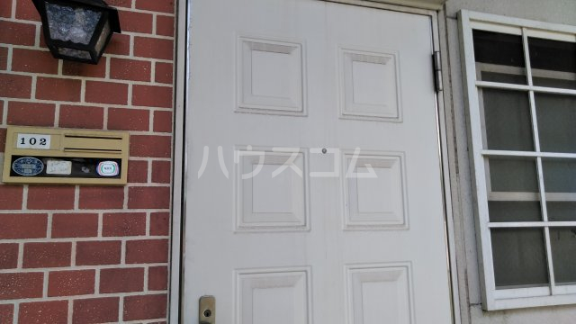 ハイツカトレアA棟 102号室の玄関