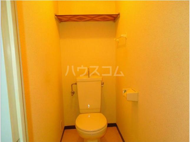コートパレス若竹 306号室のトイレ