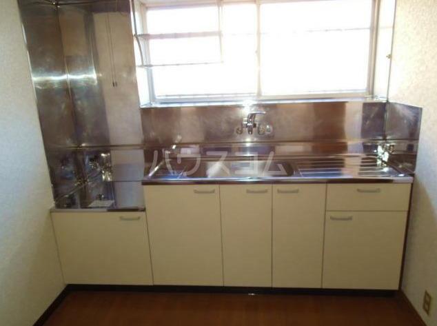 鍛冶ヶ谷テラスハウスのキッチン