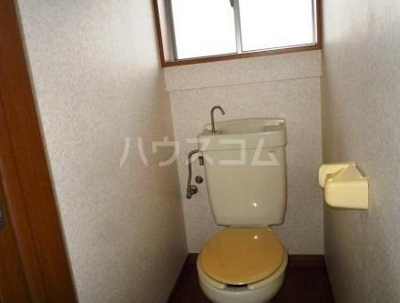 鍛冶ヶ谷テラスハウスのトイレ