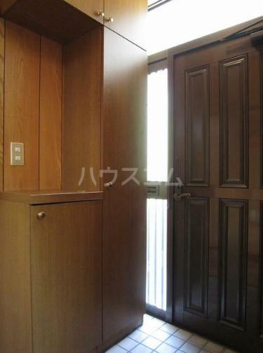 米山アパート 201号室の玄関