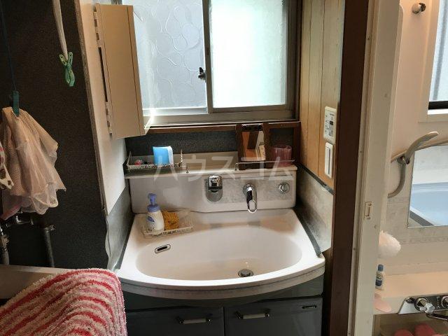 相澤戸建の洗面所