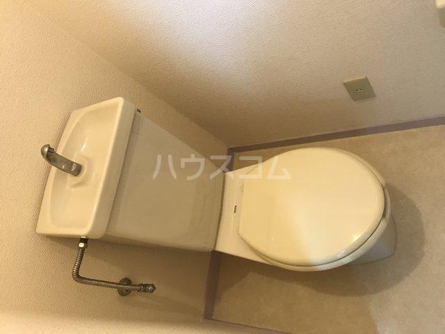 ツインビラ 202号室のトイレ