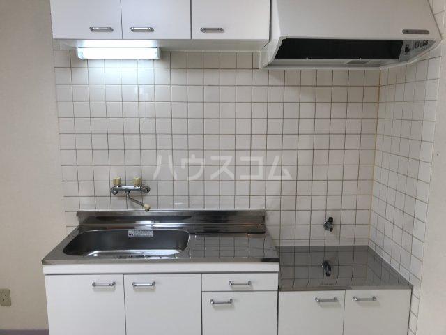 ツインビラ 202号室のキッチン