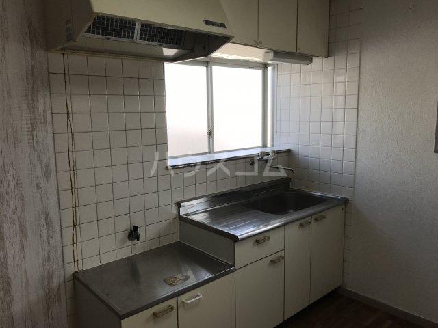 ツインビラ 301号室のキッチン