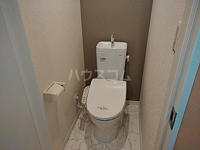 根岸プリチャーズ 102号室のトイレ