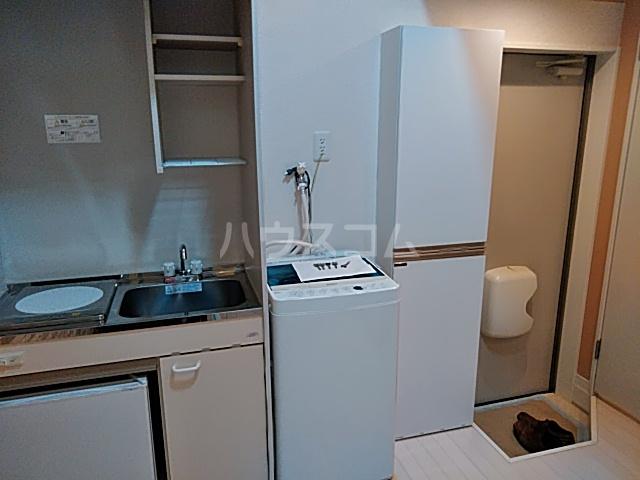 根岸プリチャーズ 102号室の洗面所