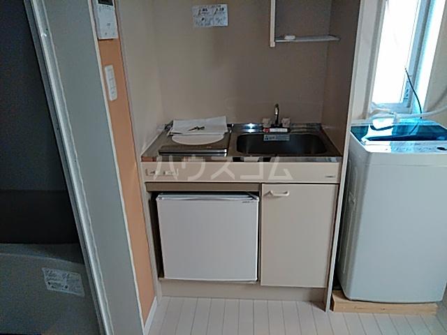 根岸プリチャーズ 205号室のキッチン