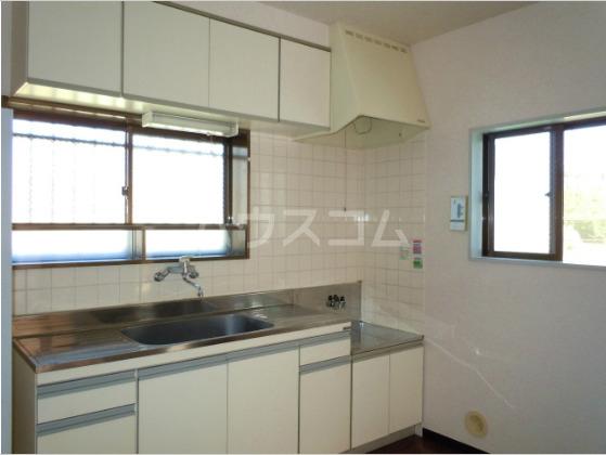メゾンド角田Ⅱ 202号室のキッチン