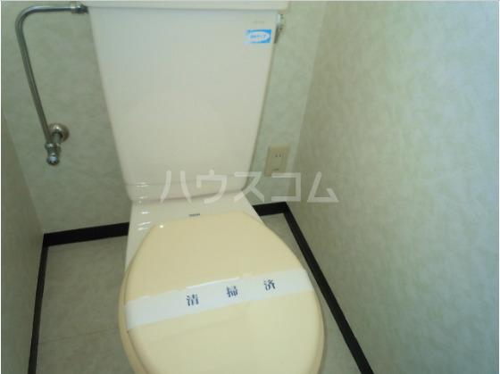 メゾンド角田Ⅱ 202号室のトイレ