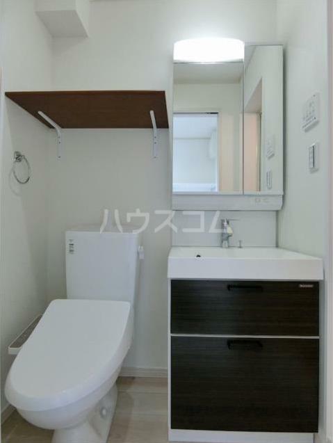 ハーミットクラブハウス大船ⅢB棟(仮) 203号室のトイレ
