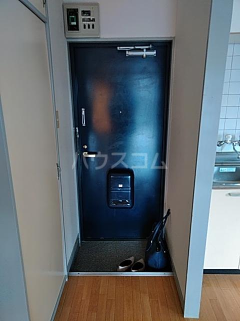 東和ハイツ 203号室の玄関