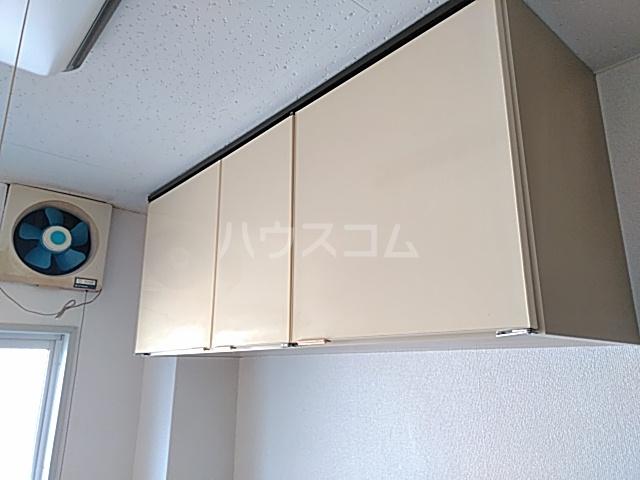 綾瀬桜マンション 202号室の収納