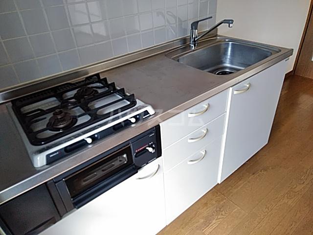 ベクヴェーム北綾瀬Ⅱ 202号室のキッチン