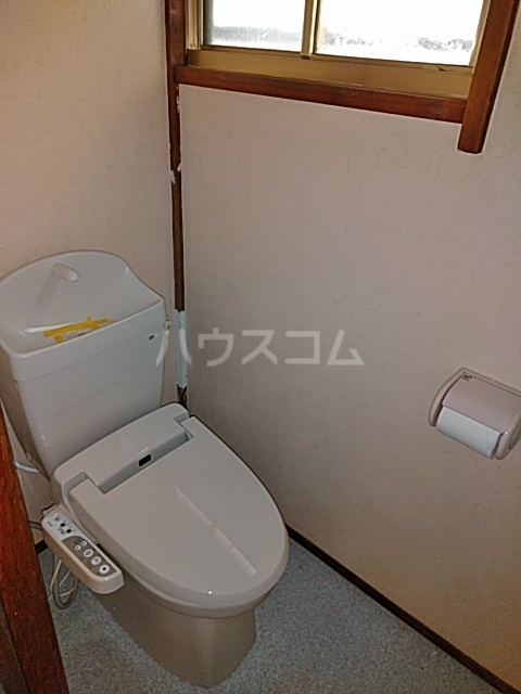 東和貸家のトイレ