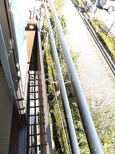 田村ルビーハイム 302号室のバルコニー