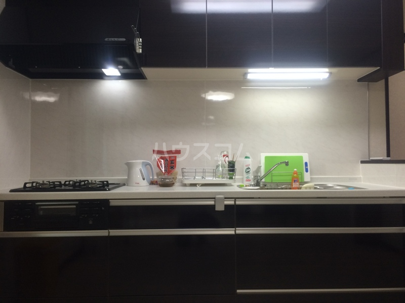 もみの気ハウス 205号室のキッチン
