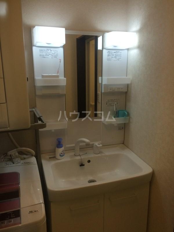もみの気ハウス 205号室の洗面所