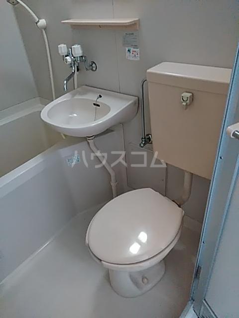 コンフォートアヤセ 202号室のトイレ