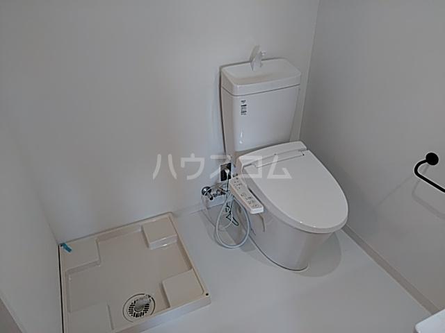 いろどりの杜 204号室のトイレ