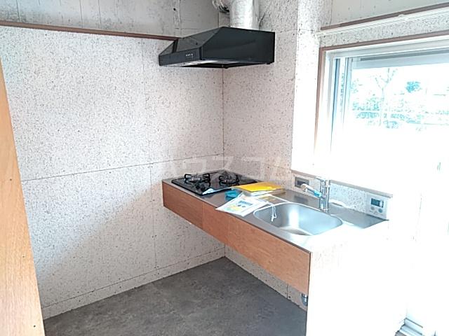 いろどりの杜 309号室のキッチン