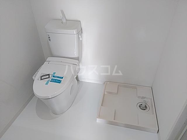 いろどりの杜 309号室のトイレ