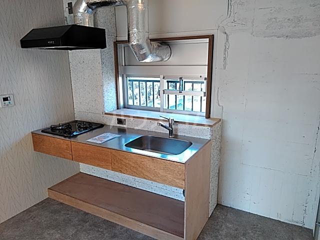 いろどりの杜 412号室のキッチン